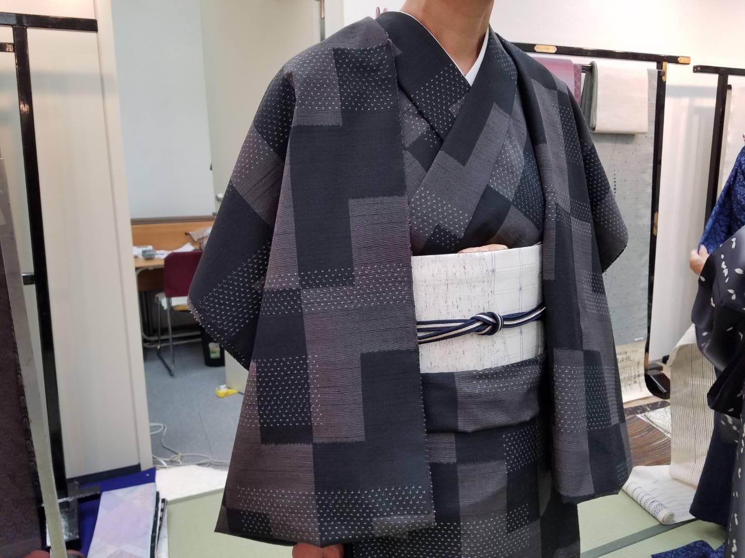 今週はコーディネート講座✨ 神戸六甲のお手軽着付け教室です✨