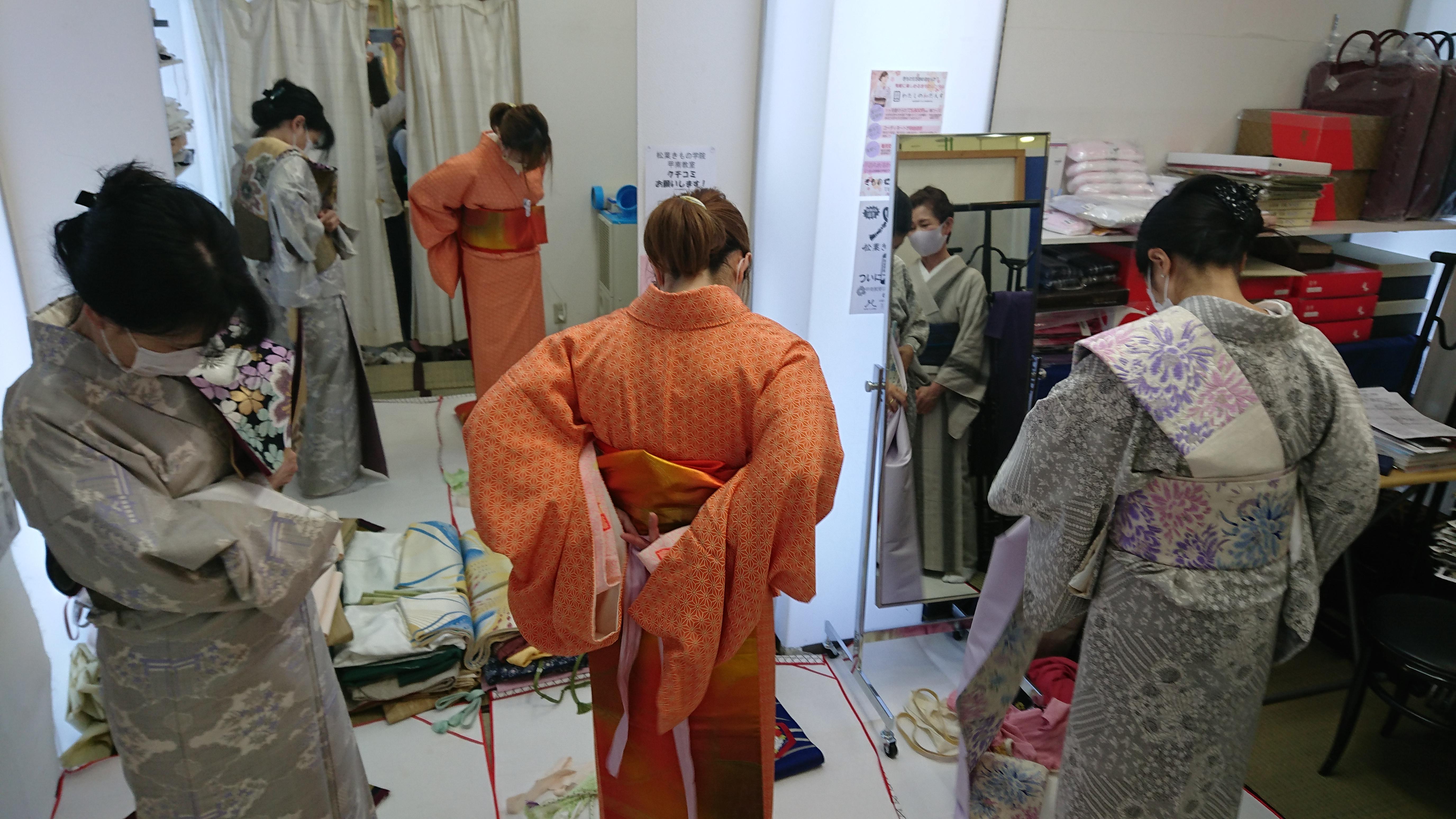 vol.26 きものの産地?-神戸市東灘区の着付け教室-